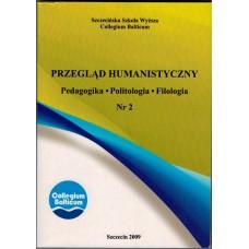 Przegląd Humanistyczny Nr 2. Pedagogika. Politologia. Filologia