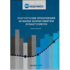 Statystyczne opracowanie wyników eksperymentów dydaktycznych